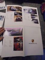 Ancien Catalogue Dépliant Porsche Affiche Boxter