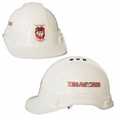 ST George Dragons NRL Light Weight Vented Safety Hard Hat Work Man Cave Gift