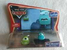 NEW Disney pixar Cars Movie Moments Mike and Sulley Supercharged