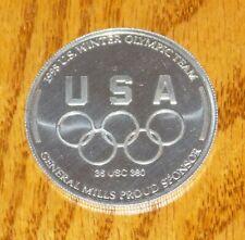 New listing USA 1998 WINTER OLYMPICS DOWNHILL SKIING NAGANO JAPAN COIN GENERAL MILLS VINTAGE