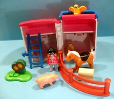 Lot PLAYMOBIL 123 - Réf 6778 - Ferme transportable