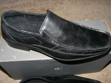 New $85 STACY ADAMS Paradigm BLACK Leather dress shoes 8 slip on career office