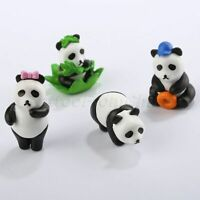 Lovely Miniature Cartoon Panda Figurines Mini Garden Ornaments Bonsai DIY Craft
