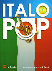 Italo Pop Play-Along Tenor Sax Saxophone Tenorsaxophon Noten mit CD