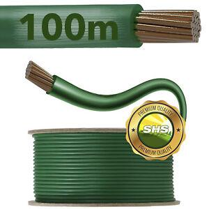 100m Begrenzungskabel Mähroboter Draht Kabel für Husqvarna Gardena Worx Robomow