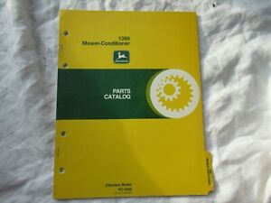 1979 John Deere 1380 mower-conditioner parts catalog manual
