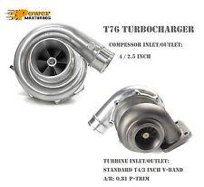 T76 Universal Performance Turbo 081 Ar P Trim T4 Turbine 3 V Band Exhaust