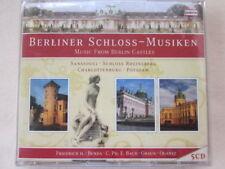 Berliner Schlossmusiken - Musik from Berlin Castles - 5 CD SET Box - Neu & OVP