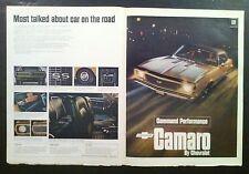 1967 CHEVY CAMARO SS 350 vintage ad*rs/z28/door/hood/hinges/windshield/emblem