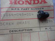 NOS Honda Carburetor Drain Screw 1970 CT70 1972 - 1973 Z50 16164-045-014