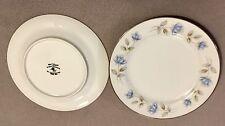 INTERNATIONAL SILVER CO. FINE CHINA ELEGANT LADY JAPAN LOT of 2 Bread Plates EVC