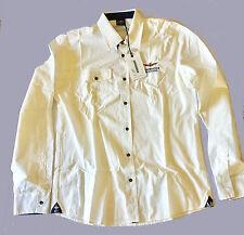 Camicia Da Uomo Dell'Aeronautica Militare Model. CA 437, Bianco New 2017
