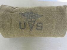 US Army Medical Corps Couverture Couverture en laine couverture Moutarde USMC