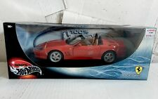 *NEW* Hot Wheels 550 Barchetta Pininfarina 1:18 Red Hot Collectible Car