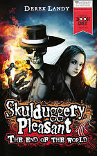 Skulduggery Pleasant: The End of the World, By Derek Landy,in Used but Acceptabl
