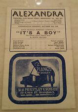 1944 Alexandra Theatre Birmingham: Vanda Godsell Mariana Harvey in IT'S A BOY