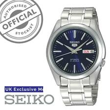 Seiko 5 Automatic Blue Dial Stainless Steel Men's Watch SNKL43K1 RRP £149