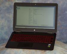 "Upgraded HP Omen 15.6"" Gaming Laptop i7-7700, 1TB NVMe SSD, 16GB RAM, 4GB 1050Ti"