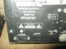 Rowe AMI Power supply 61134701 pulled from working jukebox