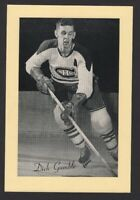 1944-63 Beehive Group II Montreal Canadiens Photos #240 Dick Gamble