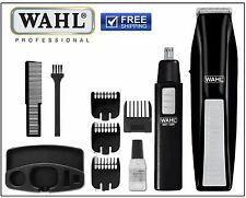 Wahl Man Beard Trimmer Nose Trimmers Shavers Clippers Hair Cut Face Grooming Kit