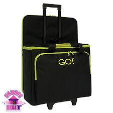55250- New AccuQuilt GO! Fabric Cutter Tote Sewing Machine Travel Bag Black Case