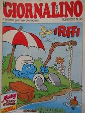 Giornalino 35 1987 I PUFFI - Kriss Boyd - Nicoletta - Piccolo Dente  [C20]