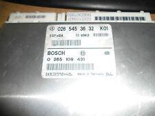 MERCEDES CLASSE A W168 châssis esp BA contrôle modual 026 545 36 32 A160