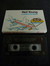 NEIL YOUNG LANDING ON WATER ULTRA RARE AUSSIE CASSETTE TAPE!