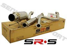 JDM SR*S CATBACK EXHAUST SYSTEM 92-95 CIVIC HATCH BACK