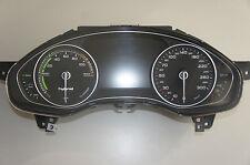 Audi A6 4G A7 Kombiinstrument 4G8920931B Hybrid Benzin 300KmH  Speed Controll