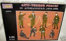 icm 1/35 ANTI-TERROR FORCES AFGHANISTAN FIGURE KIT