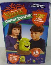 Shrek Brain Buster Game 2006 DreamWorks Shrek Talking Ogre Head Original Box