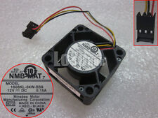 Original NMB 1608KL-04W-B59 R72 12V 0.15A 4cm cooling cooler fan 3wire 3-pin