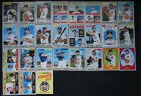 2019 Topps Heritage Houston Astros Team Set of 27 Baseball Cards With Inserts SP