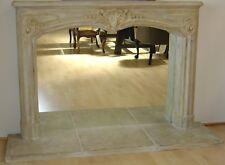 NEW Provence Cast Stone Fireplace Mantel