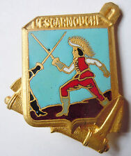 Insigne Marine 1944/61 Frégate L'ESCARMOUCHE Courtois ORIGINAL France