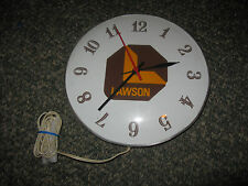 Vintage Lawson Construction Advertising Clock