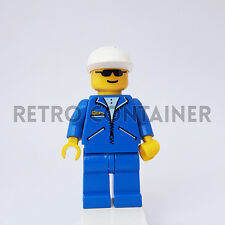 LEGO Minifigures - 1x jbl001 - Man - Jacket Town Omino Minifig Set 6444 2887