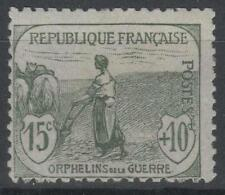"""FRANCE STAMP TIMBRE N° 150 """" ORPHELINS FEMME LABOUR 15c + 10c """" NEUF xx TB P143"""