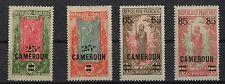 Kamerun 64 - 65 und 67-68 Falzspuren, #a305