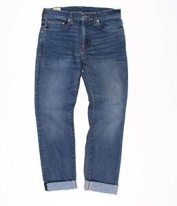 Mens J Crew 484 Slim Fit Medium Blue Wash Denim Jeans Size 30 X 30