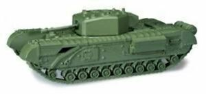 Churchill Mk.III British Tank 57mm Gun Roco Minitanks 267 Herpa 744430 New