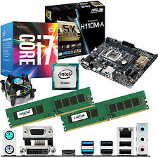 intel core i7 6700 3.4ghz & asus h110m-a & 8gb ddr4 2133 crucial bundle
