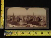 U & U Stereoview - Cairo, Home of the Arabian Nights, Egypt, c. 1904