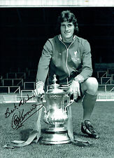 Ray CLEMENCE Signed Autograph 16x12 Photo AFTAL COA Liverpool Legend