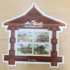Sri Lanka Ambalam of SL / Ceylon 2018 issue Mini souvenir sheet miniature sheet
