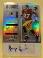 A4717 - 2017 Panini Contenders Optic #188 Jeremy Sprinkle Auto RC