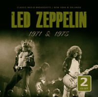 1971 & 1975 - RADIO BROADCASTS (2CD)  by LED ZEPPELIN  Compact Disc Double