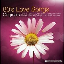 80s Love Songs: Originals by Various Artists (CD, Feb-2008, Music Brokers)